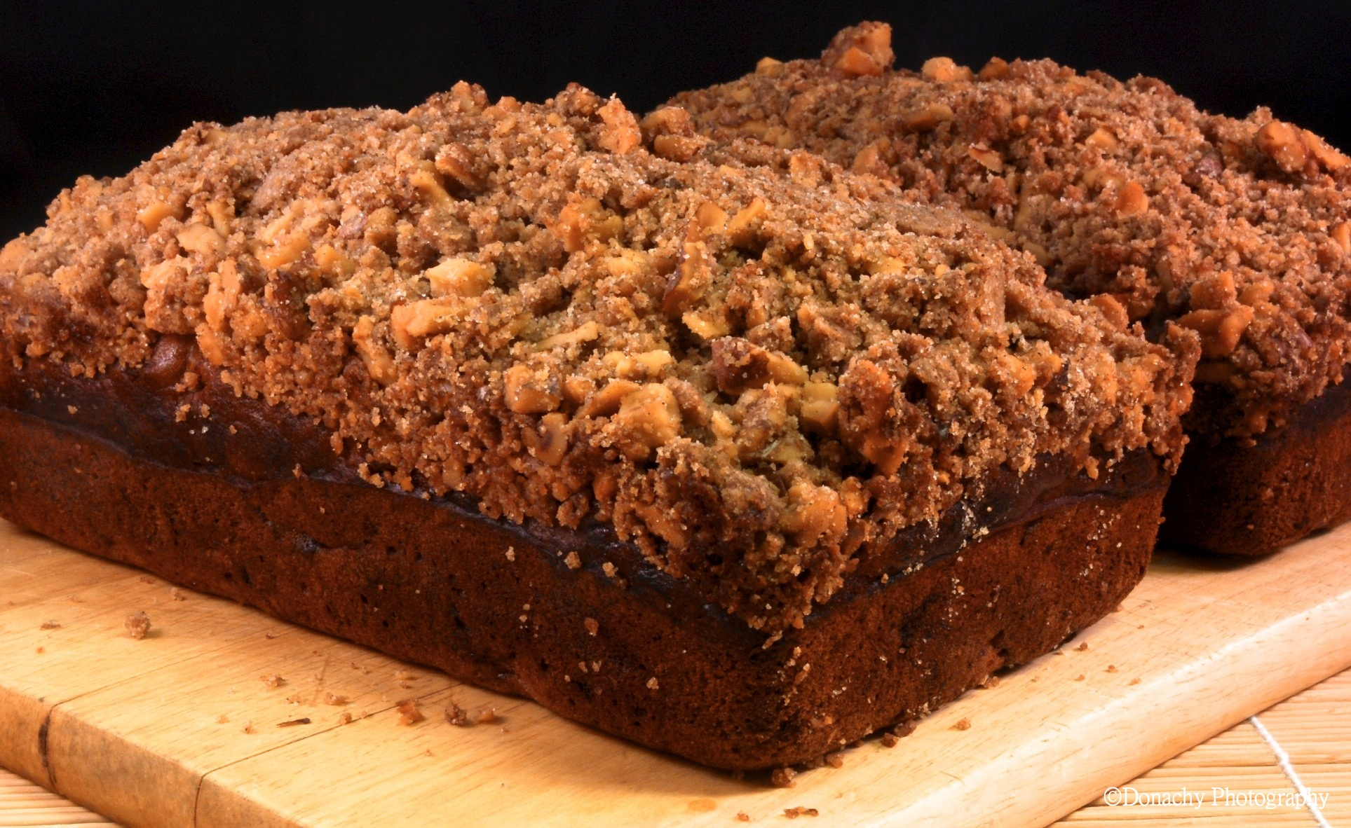 Banana Bread with Crunchy Walnut Streusel | CutterLight