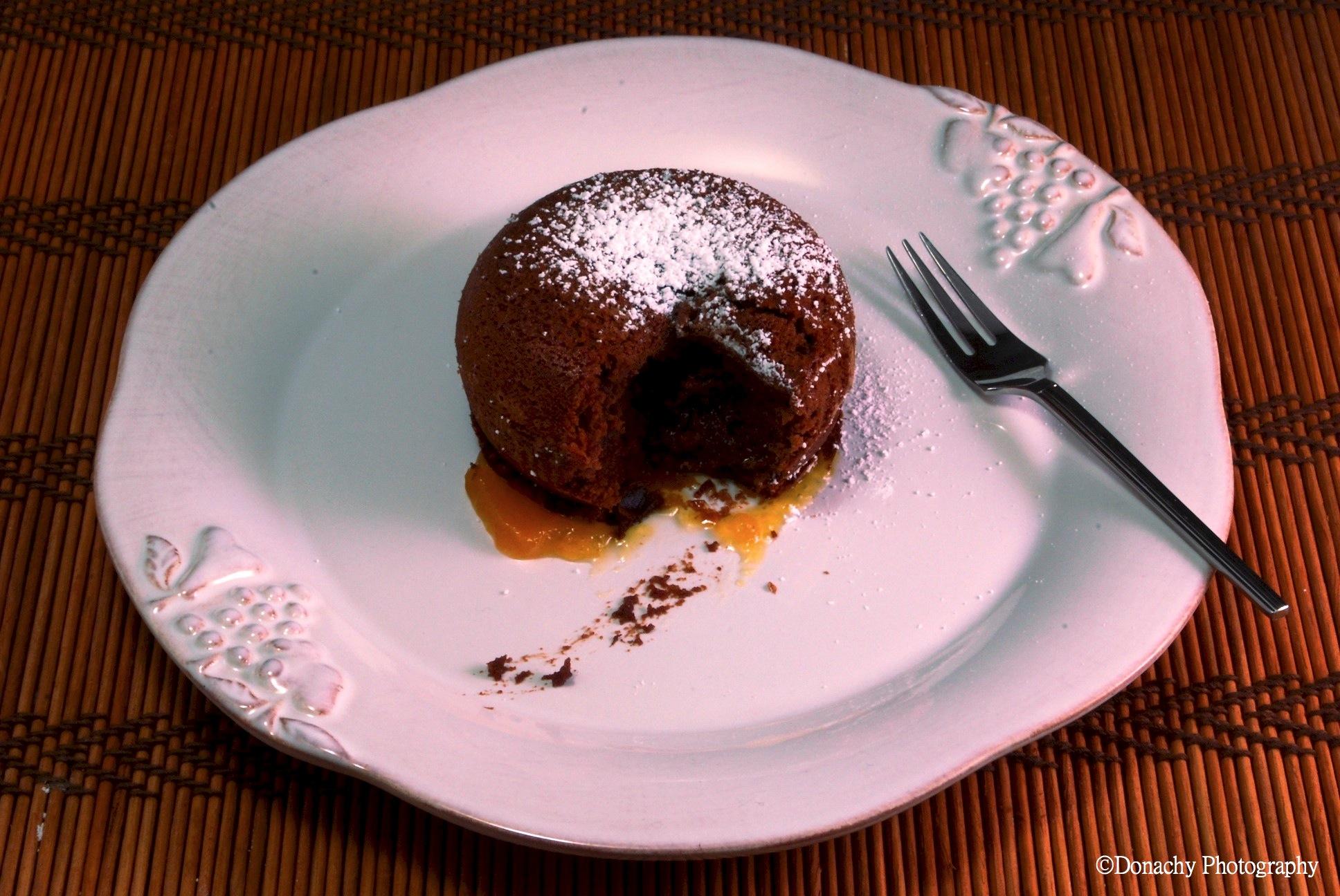 Molten Lava Chocolate Cake for Two | CutterLight