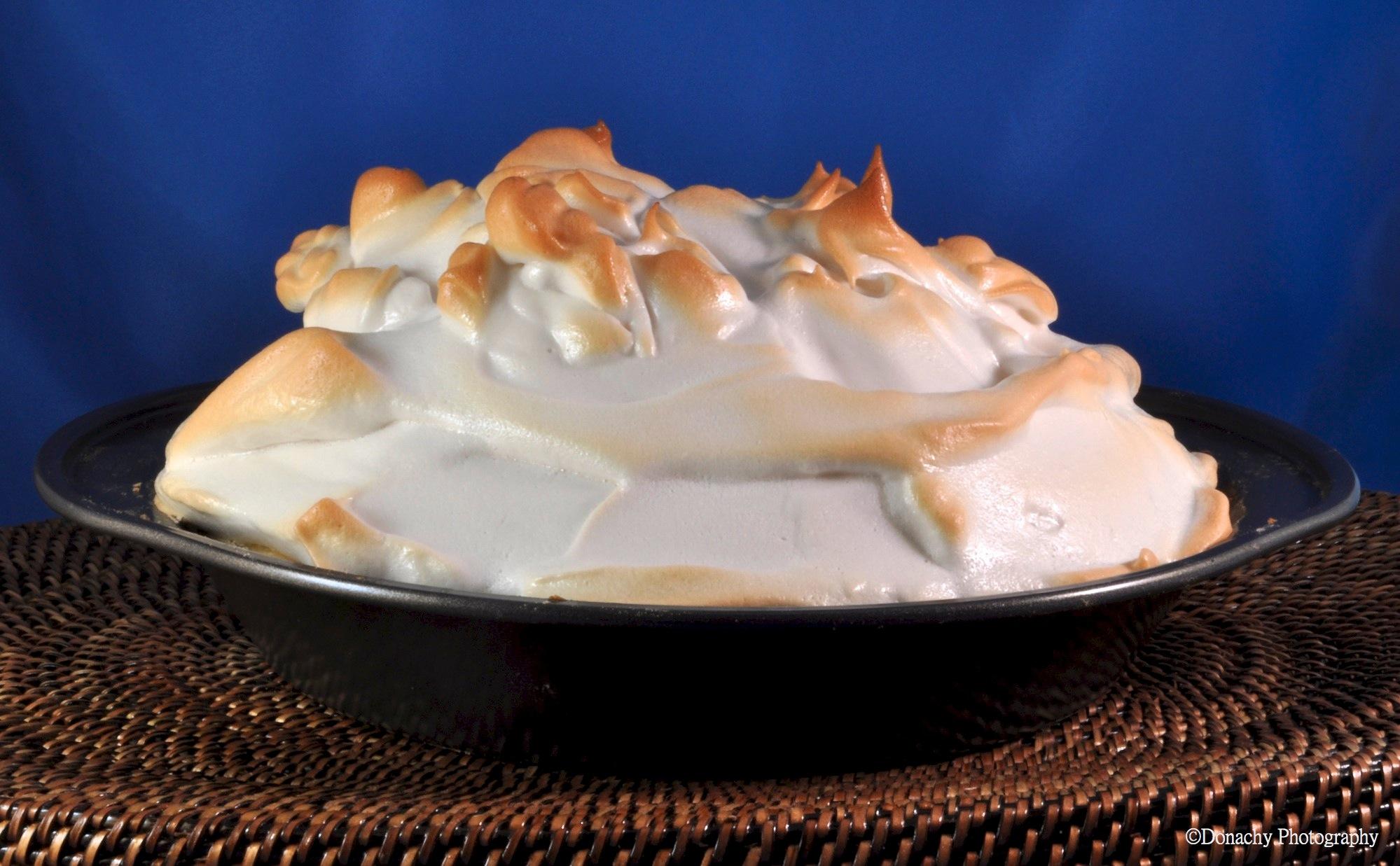 Chocolate Orange Meringue Pie | CutterLight