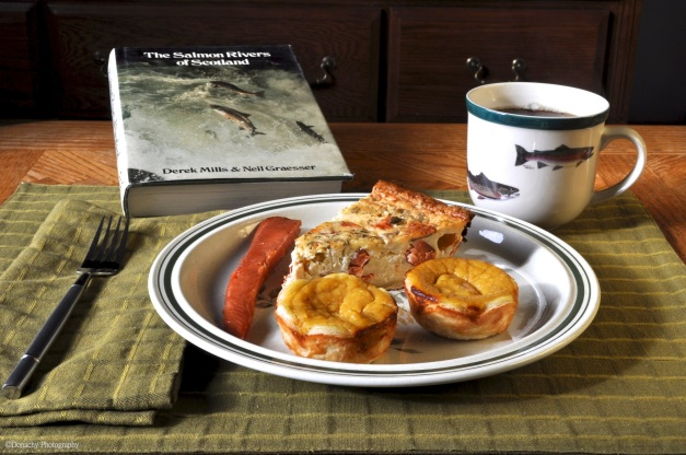 Smoked Salmon Quiche And Butternut Squash Pie Savory And Sweet Breakfast Or Dinner Cutterlight
