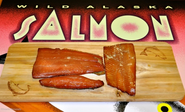 Smoked Salmon With Soy Sauce And Brown Sugar Brine