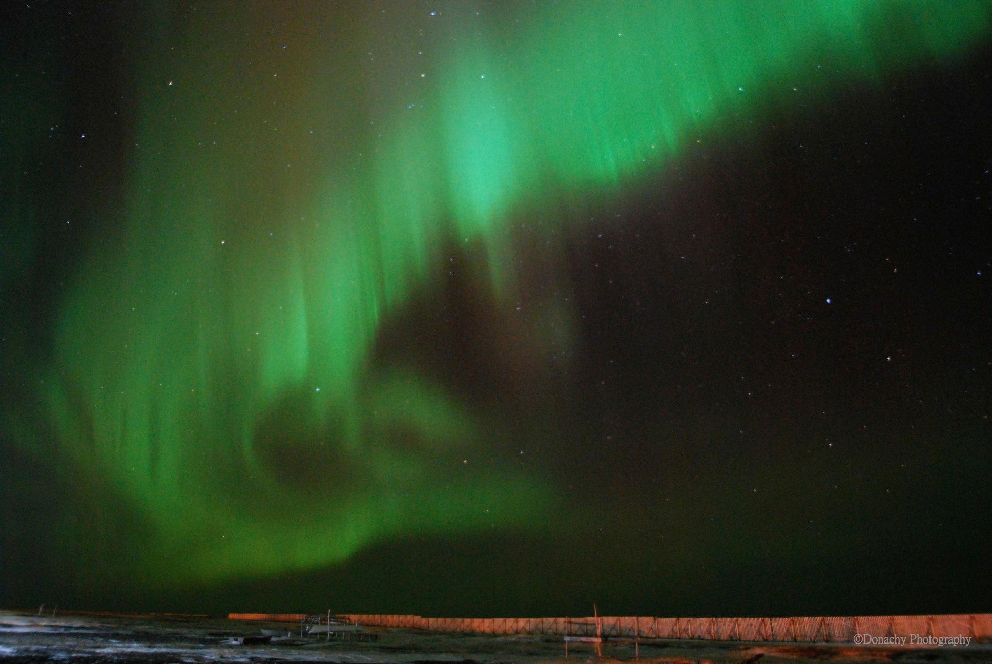 Alaska Northern Lights in the Big Point Hope Sky