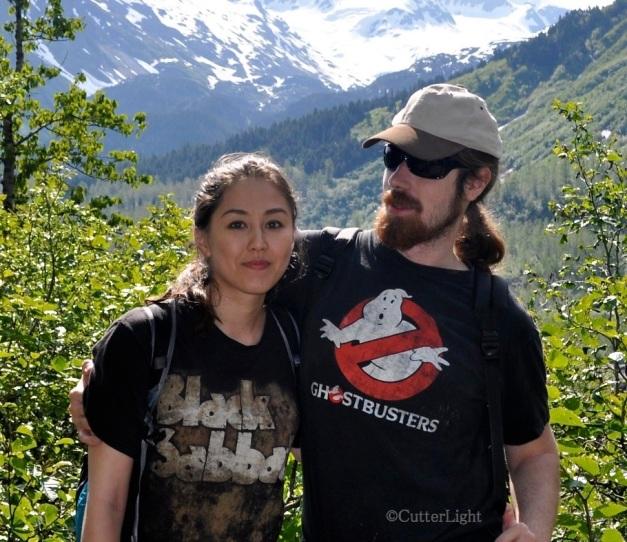 Maia & Neal Exit Glacier Trail_n
