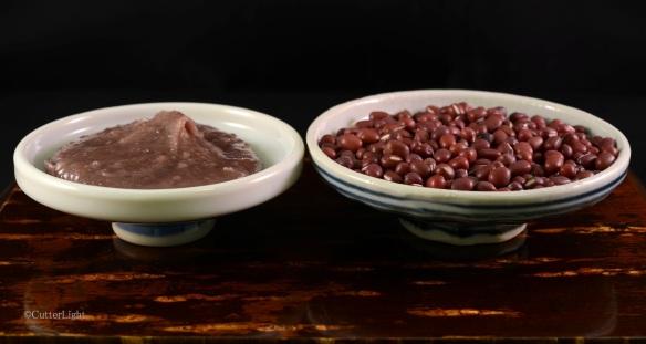 Azuki paste and azuki beans_n