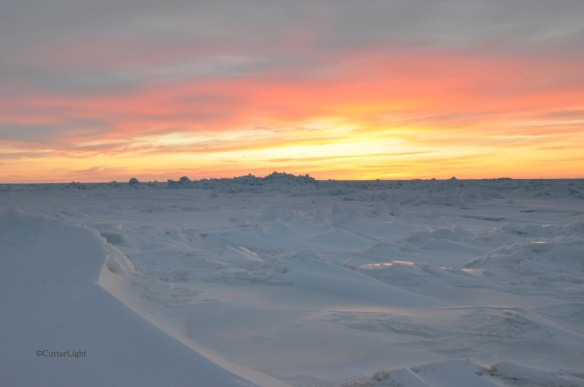 frozen sea sunset 1_n