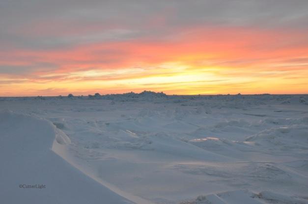 frozen sea sunset 1_n