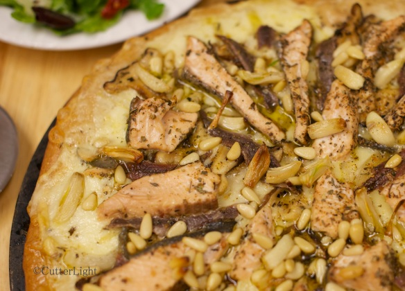 Smoked Anchovy & Sage-Seared Salmon Pizza_n