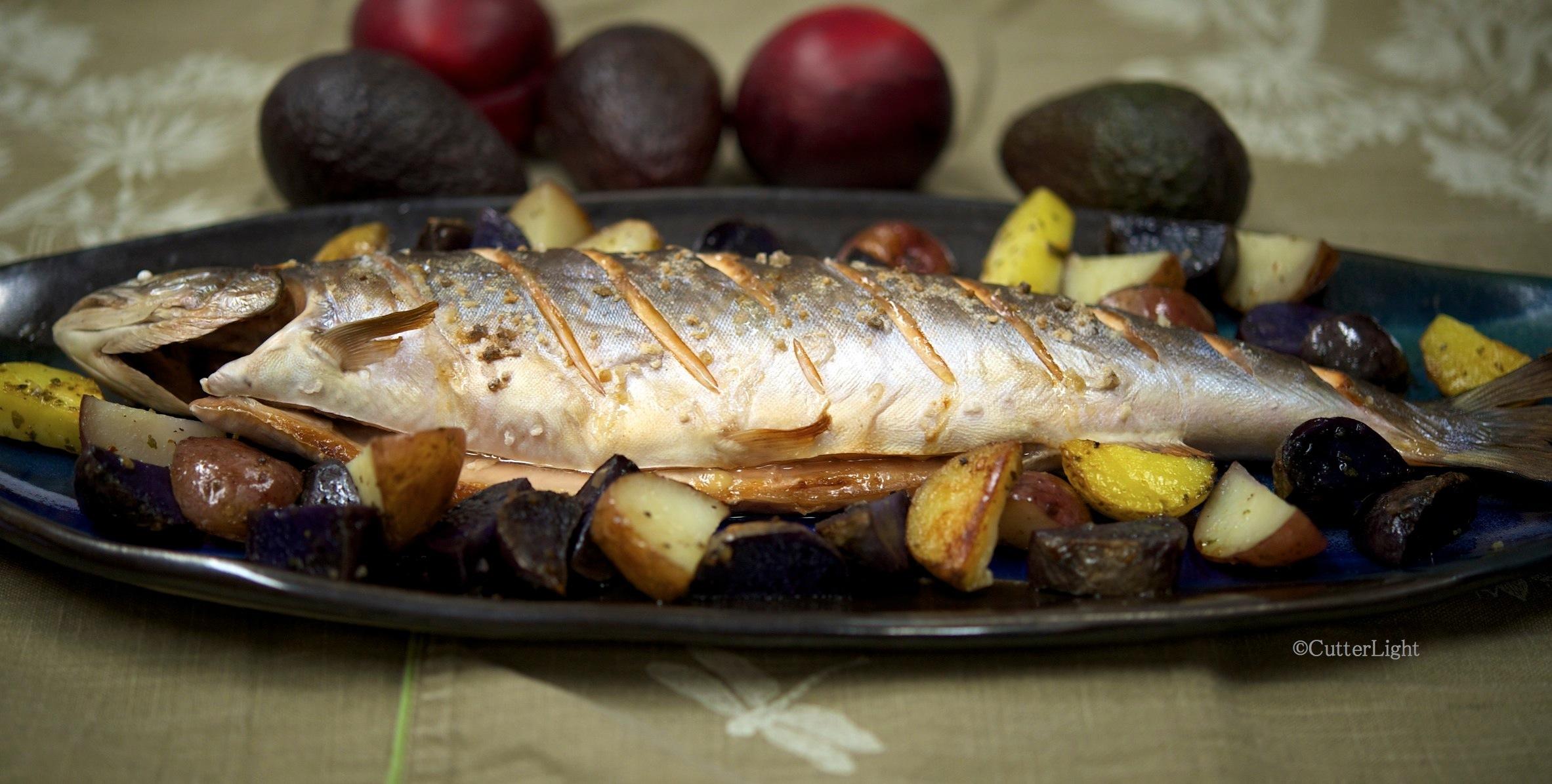 Whole fish recipe cutterlight for Jack fish recipe