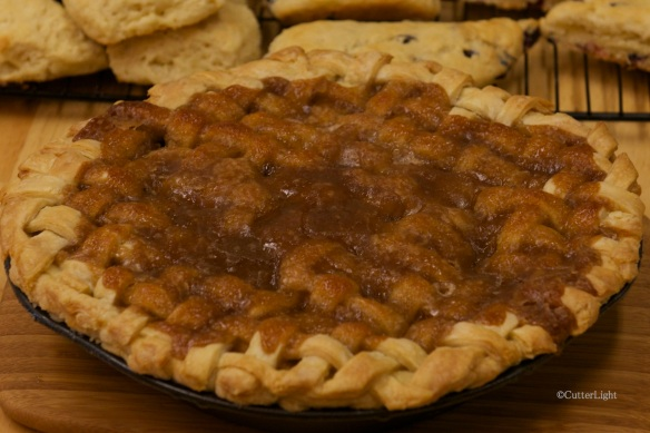 apple pie lattice top n
