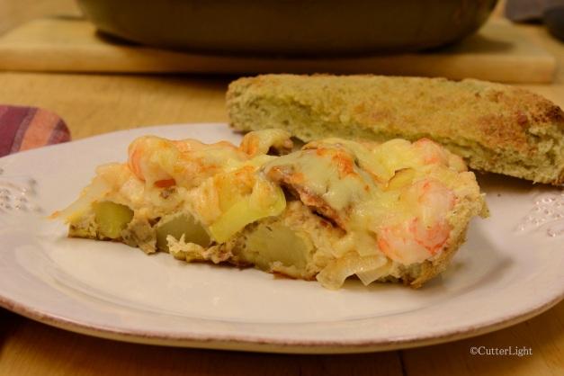 frittata smoked salmon shrimp n