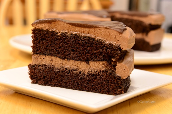 chocolate mousse cake n