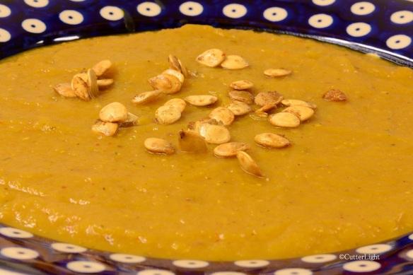 delicata squash soup n