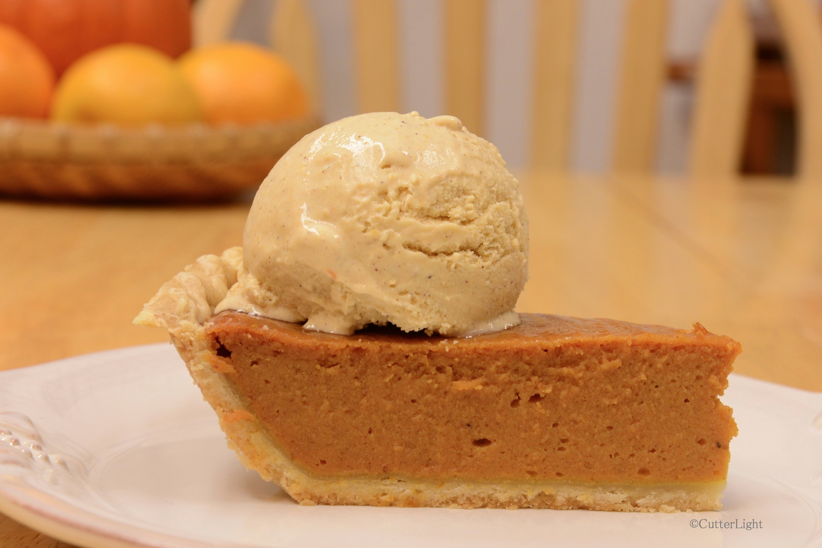 Pumpkin Pie Ice Cream Recipe — Dishmaps