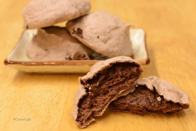 meringue fudgy chocolate n