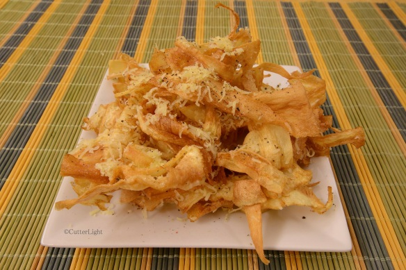 parsnips fried n