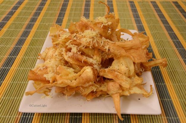 parsnips fried n