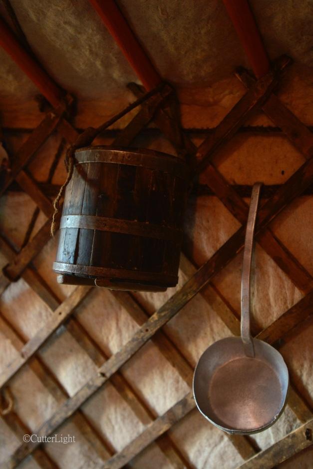 rustic bucket & Ladle n