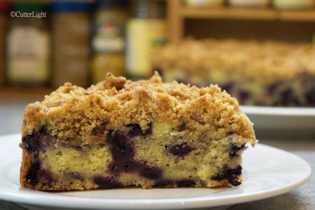 blueberry streusel cake n