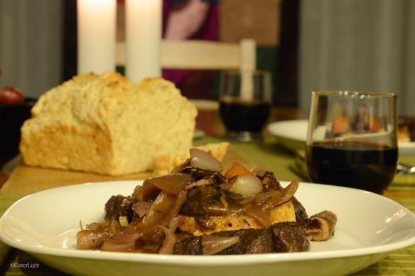 beef bourguignon n