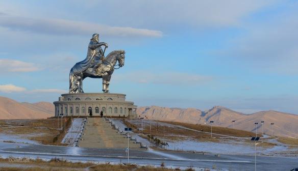 Chinggis Khan w landscape n