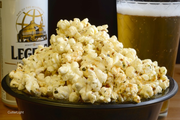 gourmet popcorn and beer cover n