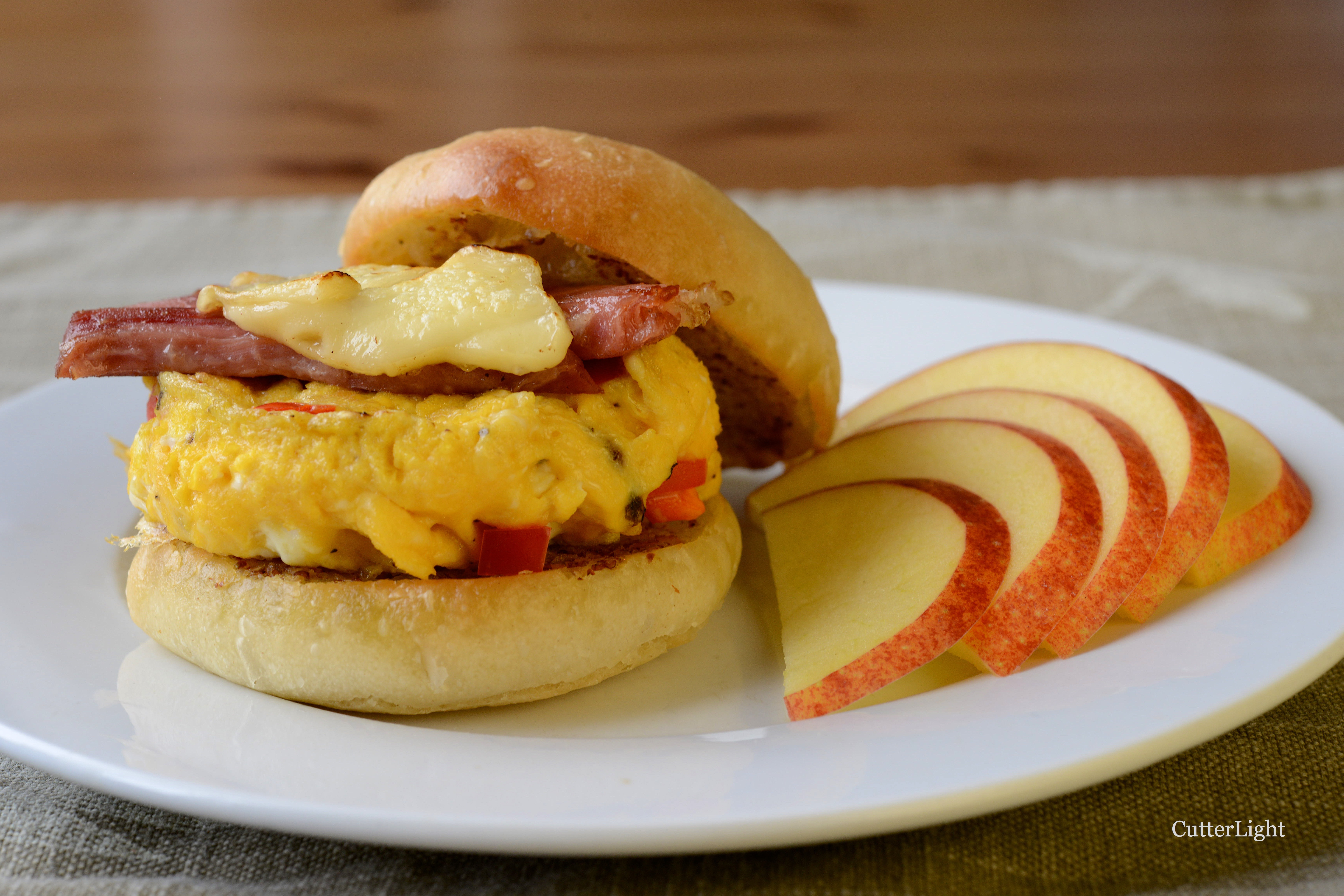 Breakfast Slider With Bun Recipe N