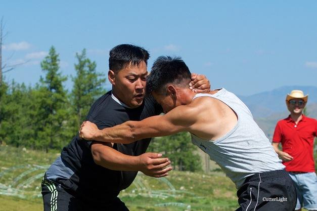 wrestling at khorkhog n