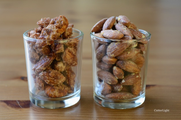 2 ways Roasted Almonds n