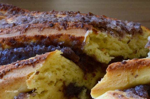 Adzuki bean twist bread n