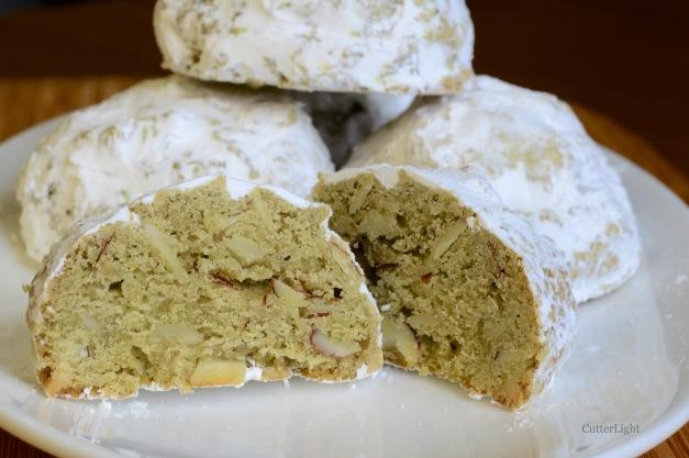 almond match snowball cookies n