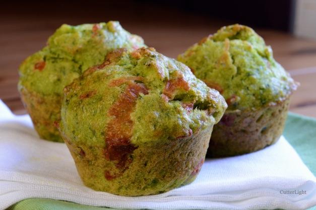 Pesto cheese muffins n