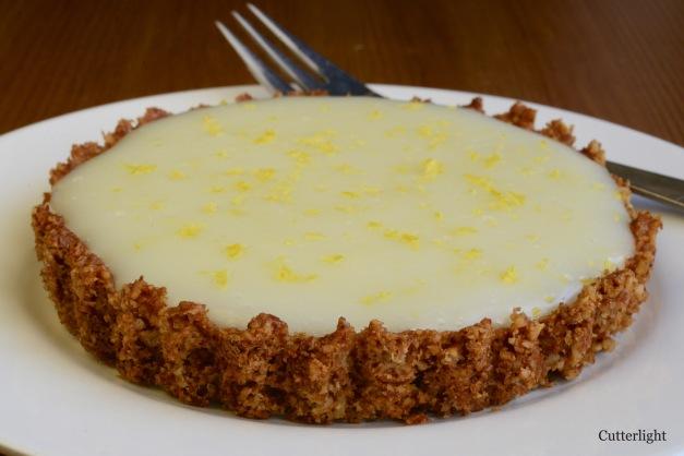gluten free lemon tart n