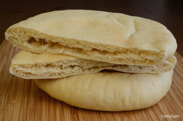 whole wheat pita n