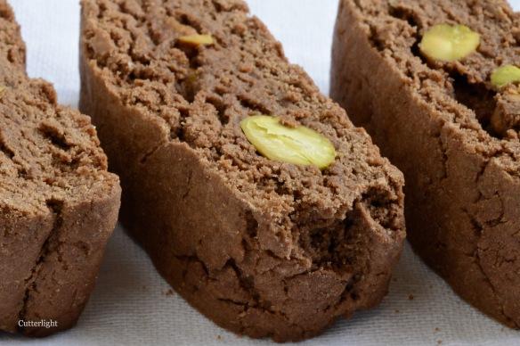 chocolate pistachio biscotti n