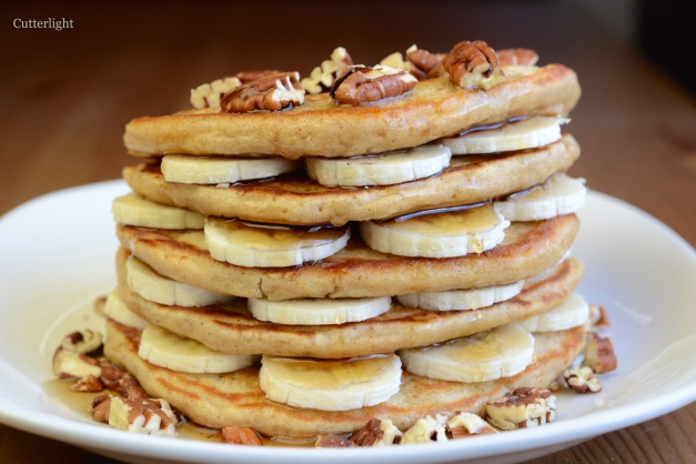 pancakes oat wheat banana n