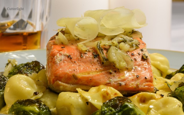 salmon-on-pumpkin-ravioli-n