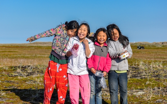 Shishmaref Alaska students