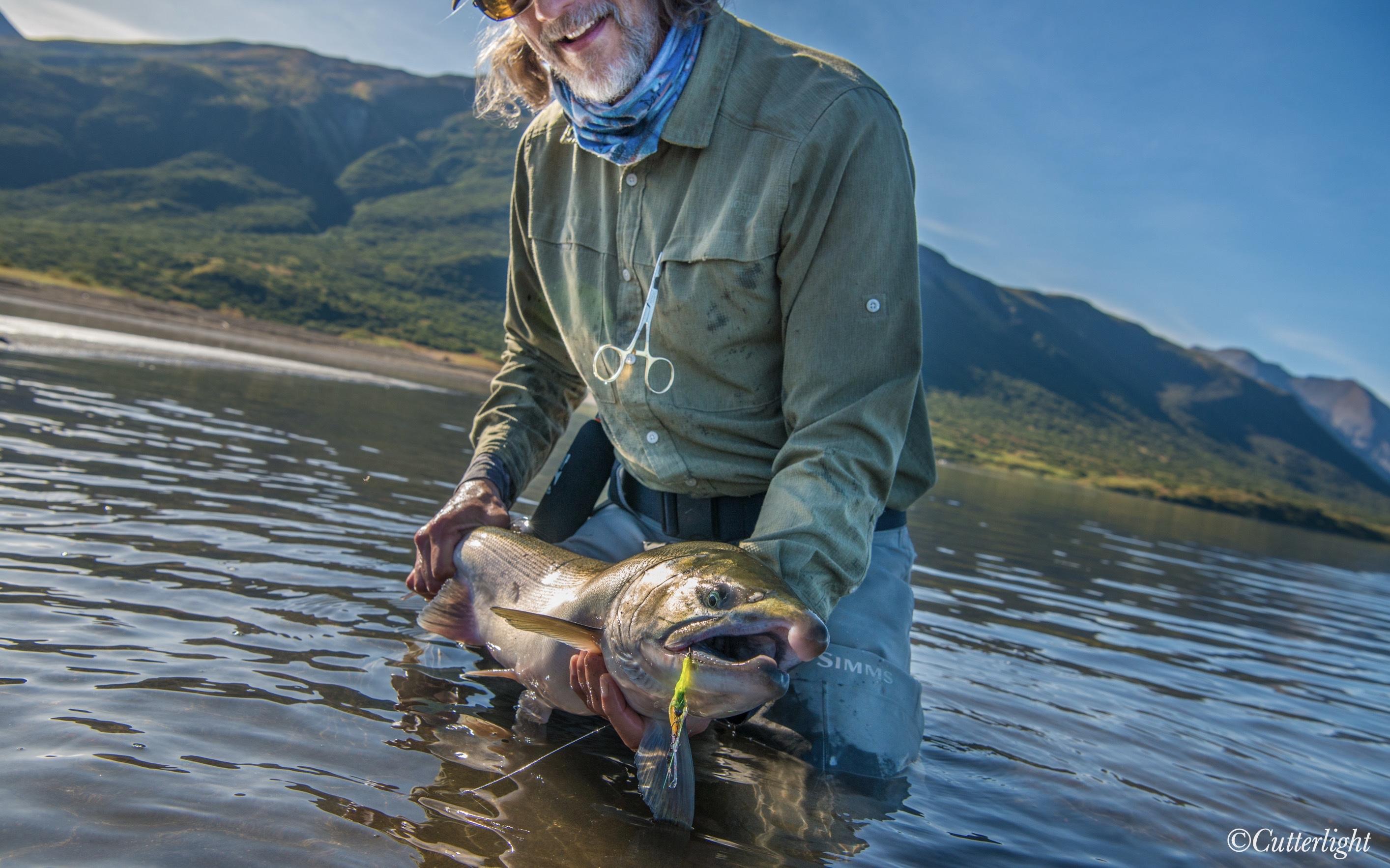 Salmon fishing Chignik Alaska