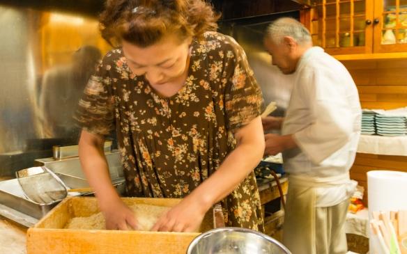 tempura chef hokkaido